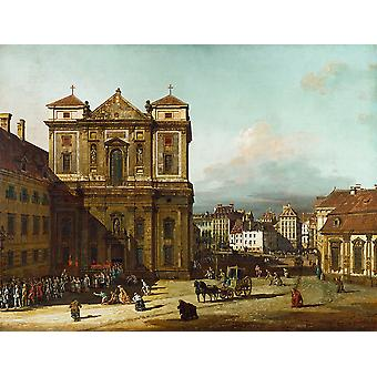 Canaletto - Tall gebouwen Poster Print Giclee