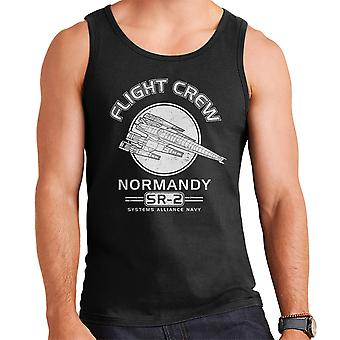 Normandiet Flight Crew Mass Effect mænds Vest