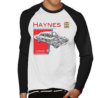 Haynes Owners Workshop Manual 0033 Hillman Hunter GLS Men's Baseball Long Sleeved T-Shirt