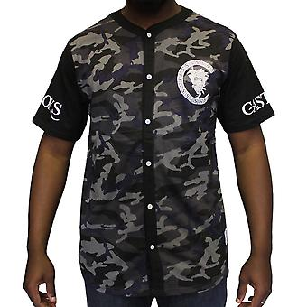 Crooks & Castles Slugger baseball Jersey Black