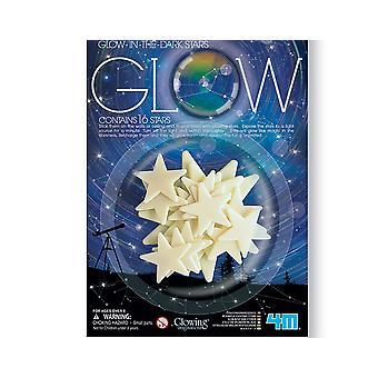 SALE - 16 Glow In The Dark Stars | Outer Space Crafts
