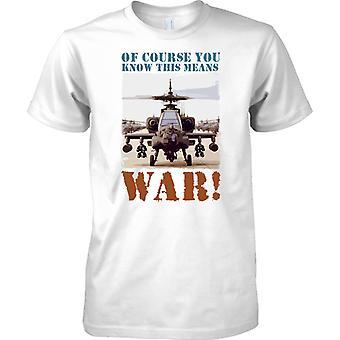 Natürlich wissen Sie dieses Mittel Krieg - Apache - Kinder T Shirt
