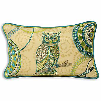Riva Home Indian Collection Leodis Owl Cushion Cover