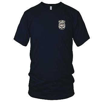 Pułku - 511th powietrzu piechoty armii USA haftowane Patch - Hells Angels Panie T Shirt