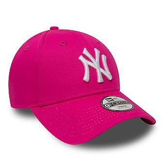 New Era NY Yankees essenziale della gioventù Cap - rosa