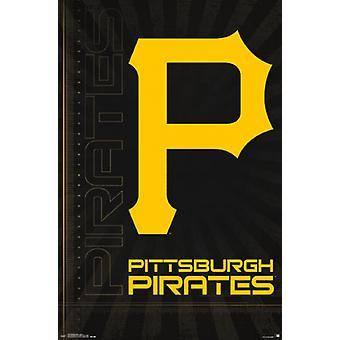 Pittsburgh Pirates - Logo 16 Poster Poster Print