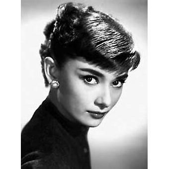 Audrey Hepburn Close Up Poster Poster Print