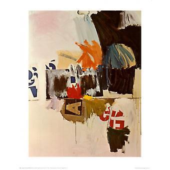 Letnim wypożyczalnia nr 2 1960 Poster Print przez Robert Rauschenberg (22 x 28)