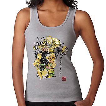 Yellow Jojos Bizarre Adventure Za Warudo Sumie Women's Vest
