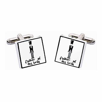 Sonia Spencer Father of the Bride Wedding Cufflinks, Wedding Party Cufflinks