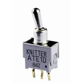 Toggle switch 48 V DC/AC 0.05 A 1 x On/On Knitter-Switch