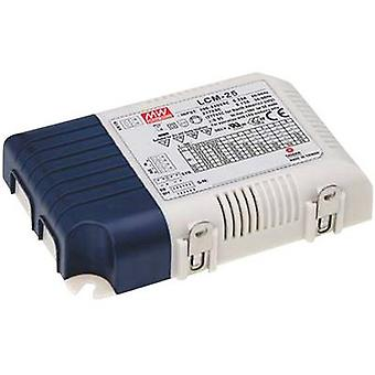 LED driver Constant current Mean Well LCM-25DA 25 W (max) 0.