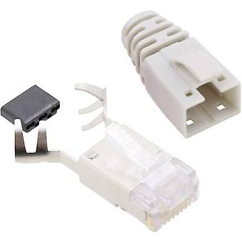 BEL Stewart Connectors SS39GEE SS39GEE RJ45 Connector CAT 6 8P8C RJ45 Plug, straight Yellow