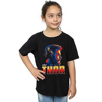 Maravilha meninas Vingadores infinito guerra Thor Character t-shirt