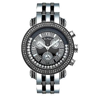 Joe Rodeo diamond men's watch - CLASSIC black 1.75 ctw