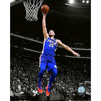 Spotlight Ben Simmons 2017-18 akcji Photo Print