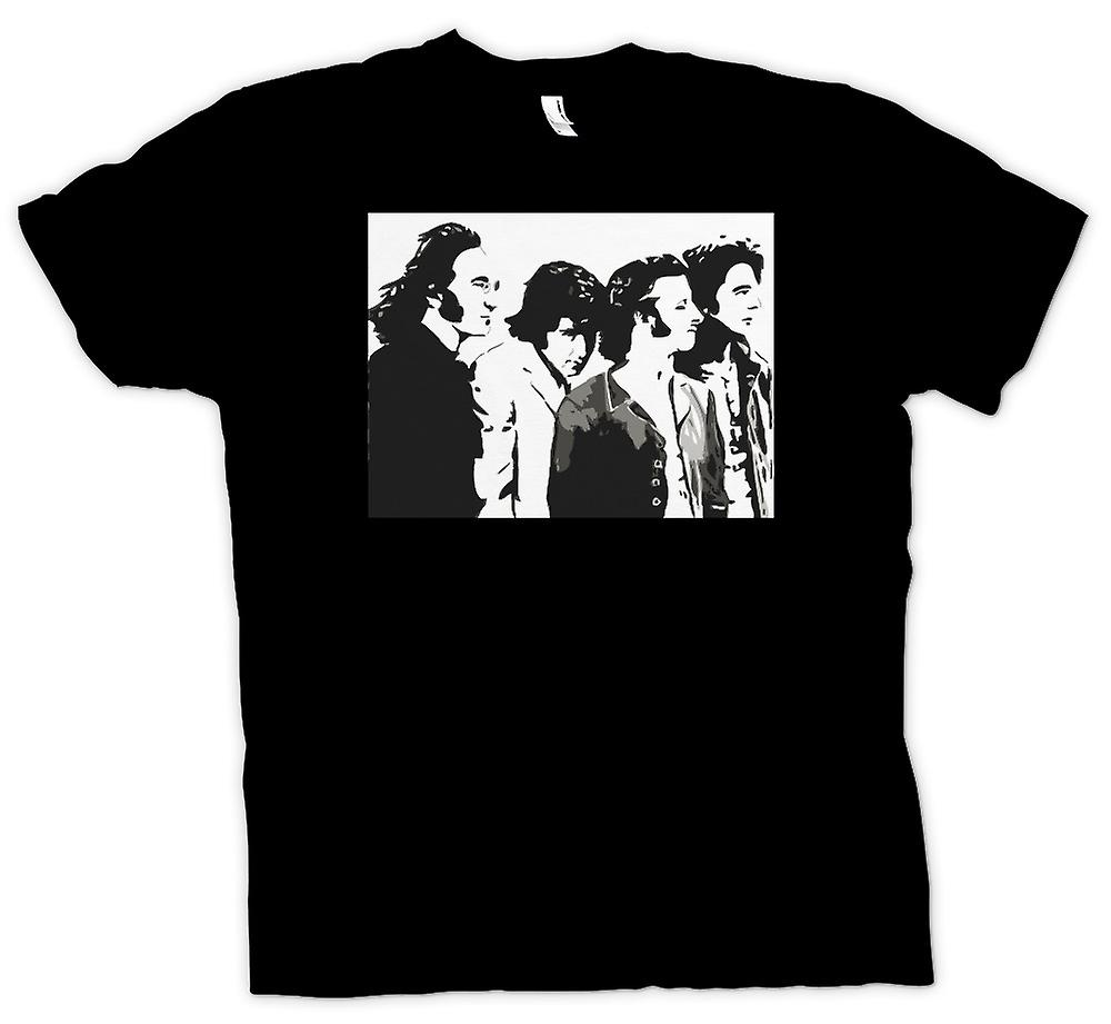 Womens T-shirt - The Beatles - Band - Pop Art