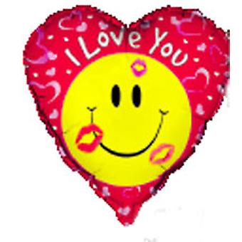 Foil Balloon «Je vous aime»