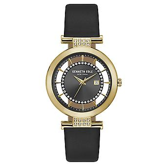 Kenneth Cole New York women's wrist watch analog quartz leather KC15005008
