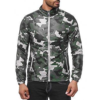 Sport maschili trasferimento giacca giacca a vento leggera per il tempo libero giacca mimetica Blouson