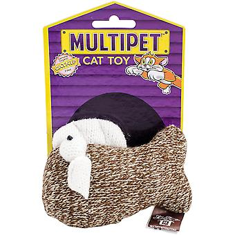 Multipet Sock Pals Catnip Filled Sock Toy 1.5