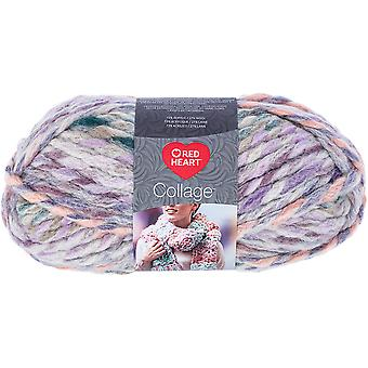 Red Heart Collage Yarn-Forget Me Not
