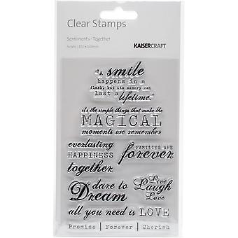 Kaisercraft Clear Stamps 4