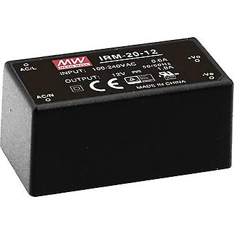 AC/DC PSU (print) Mean Well IRM-20-24 24 Vdc 0.9 A 21.6 W