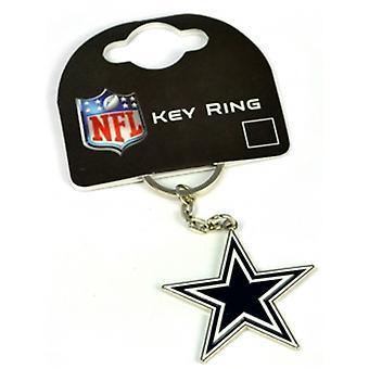 Dallas Cowboys Nfl Metal / esmalte llavero. Producto con licencia oficial