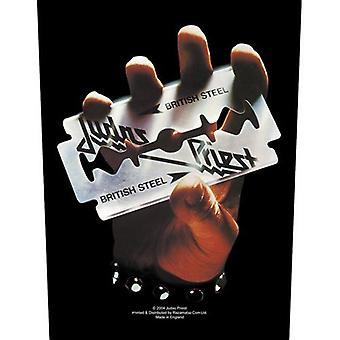 Judas Priest British Steel Sew-On Cloth Large Back Patch