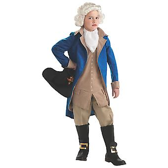 George Washington Founding Father US President Colonial French Boys Costume