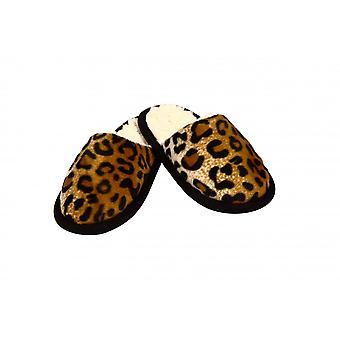 Pantoffel Tieroptik Gepardfell 44/45