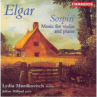 E. Elgar - Elgar: Importazione USA Sospiri [CD]
