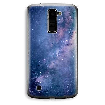 LG K10 (2016) gennemsigtig sag (Soft) - Nebula