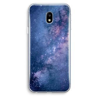 Samsung Galaxy J3 (2017) Transparent Case (Soft) - Nebula