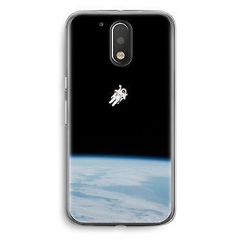 Motorola Moto G4/G4 Plus Transparent Case - Alone in Space