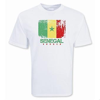 Сенегал футбол футболку