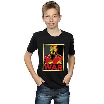 Marvel gutter Avengers Infinity krigen Iron Man War T-Shirt