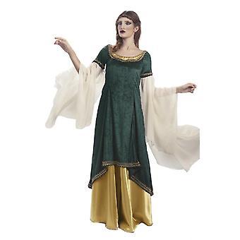 Elf Princess ladies costume Elf costume Galadriel green ladies costume