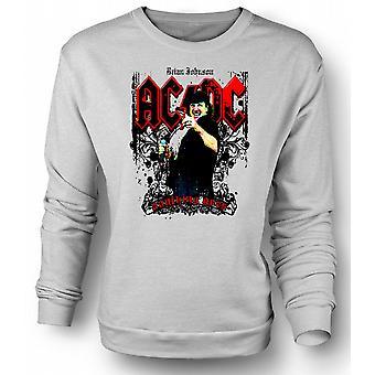 Mens Sweatshirt AC/DC - Brian Johnson