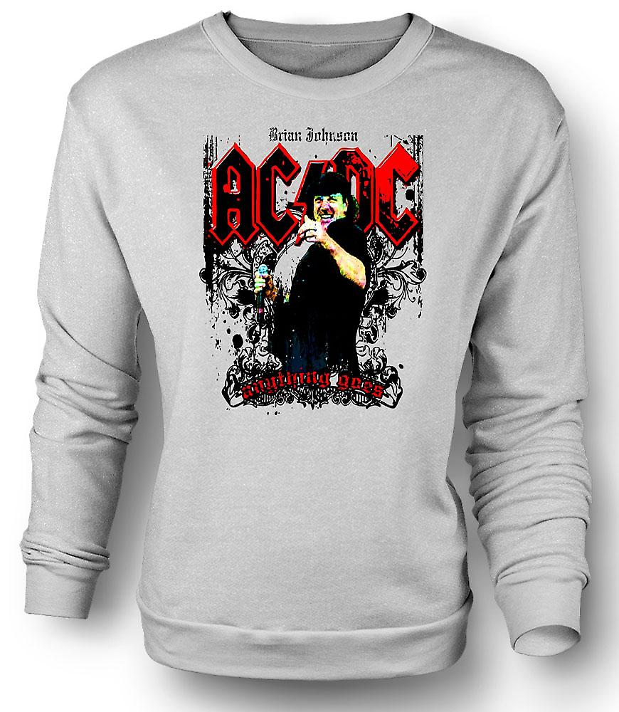 AC/DC - felpa Mens Brian Johnson