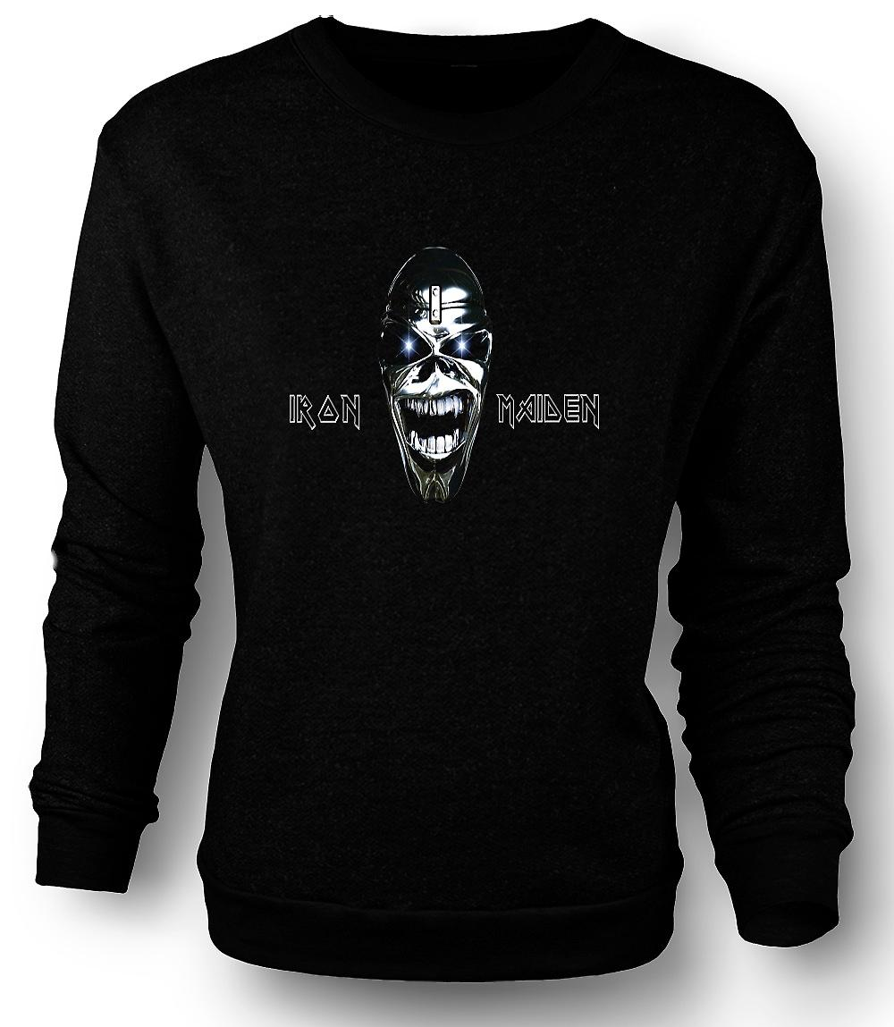 Mens Sweatshirt Iron Maiden - Eddie Logo