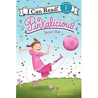 Pinkalicious: Estrela de futebol (pode ler livro 1) (posso ler Pinkalicious - nível 1