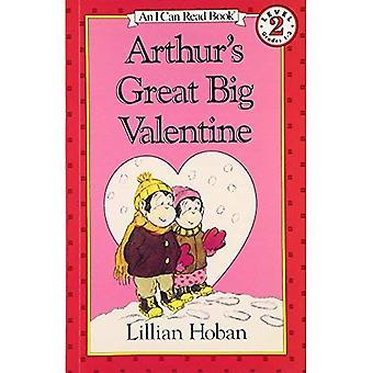 Arthurs fantastiska stora Valentine (jag kan läsa bok)