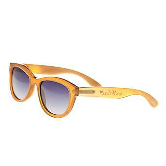 Bertha Carly Buffalo-Horn Polarized Sunglasses - Vanilla/Black