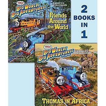 Thomas & amis superproduction 2018 DVD Deluxe 2-en-1 Pictureback avec des autocollants (Thomas & amis) (Pictureback(r))