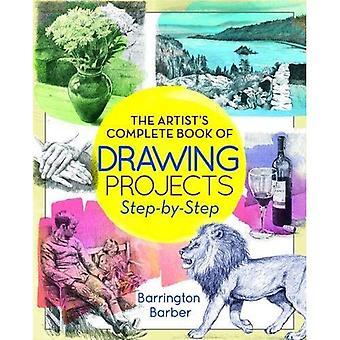 Komplette Künstlerbuch von Projekten - Schritt für Schritt zeichnen