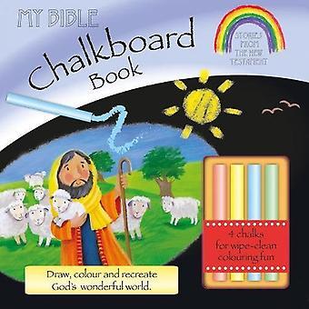 Mijn Bijbel schoolbord boek: Verhalen uit het nieuwe Testament (Incl. krijt) [Board boek]