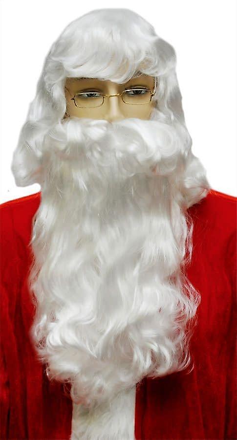 Julenissen skjegg satt hvit