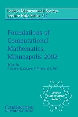 Foundations of Computational Mathematics Minneapolis 2002 by DeVore & Ron